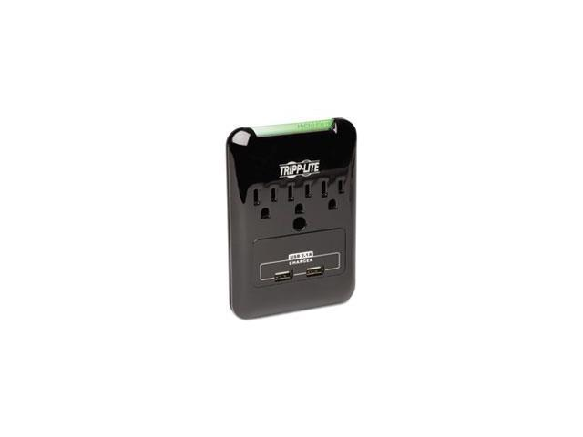 Sk30usb Surge Suppressor, 3 Outlets/2 Usb, 540 Joules, Black By: Tripp Lite