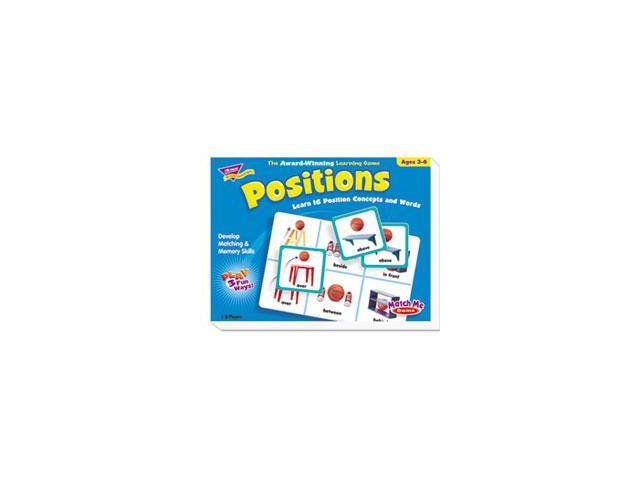 Positions Match Me Puzzle Game, Ages 5-8 By: TREND