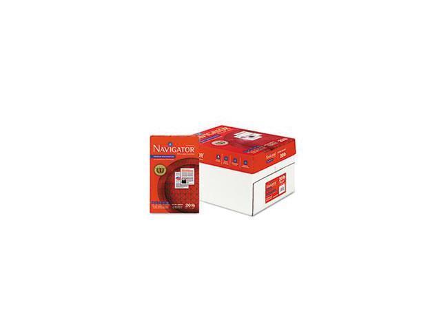 Premium Multipurpose Paper, 97 Brightness, 20lb, 8-1/2x14, White, 5000/carton By: Navigator