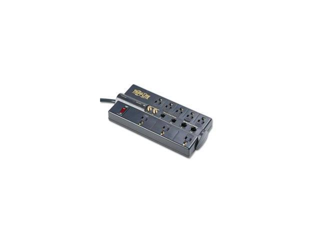 Tlp810net Surge Suppressor, 8 Outlets, 10 Ft Cord, 3240 Joules, Black By: Tripp Lite