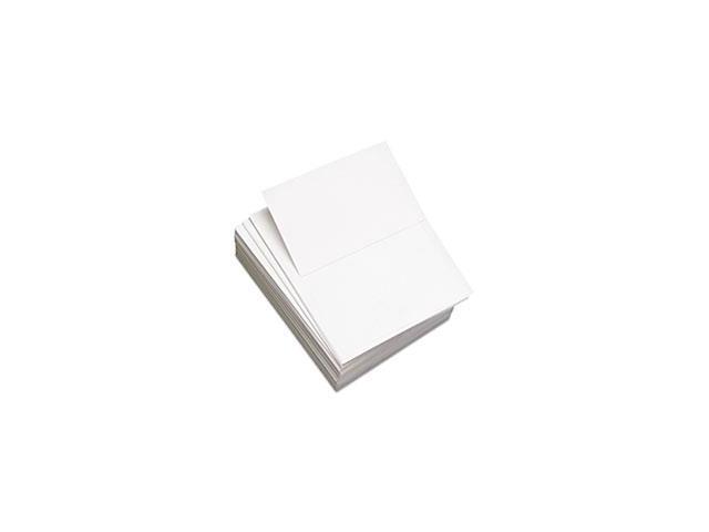 Custom Cut-Sheet Copy Paper, 92 Brightness, 20lb, 8-1/2x11, White, 2500/carton By: Domtar