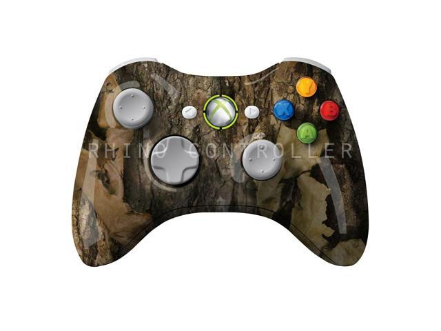 XBOX 360 controller Wireless Glossy WTP-277-Prairie-Ghost-North-Woods Custom Painted- Without Mods