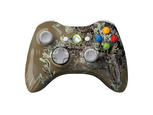 XBOX 360 controller Wireless Glossy WTP-249-Prairie-Ghost-Ultimate Custom Painted- Without Mods