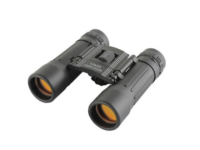 12X30 96/1000m Mini Sports Optics Binocular Telescope Spotting Scope for Hunting Camping Hiking Traveling Concert