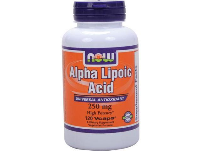 Alpha Lipoic Acid 250 mg - 120 Vegetarian Capsules by NOW