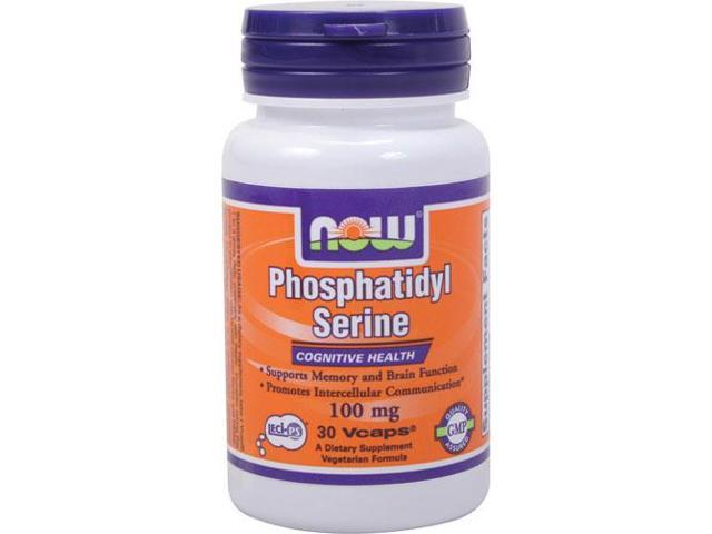 Phosphatidyl Serine 100 mg - 30 Veg Capsules by NOW