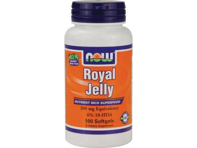 Royal Jelly 300 mg - 100 Softgels by NOW