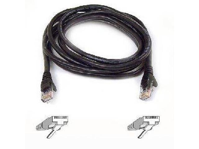 BELKIN A3L980-35-S 35 ft. Cat 6 Black Color RJ-45 M/M Patch Cable