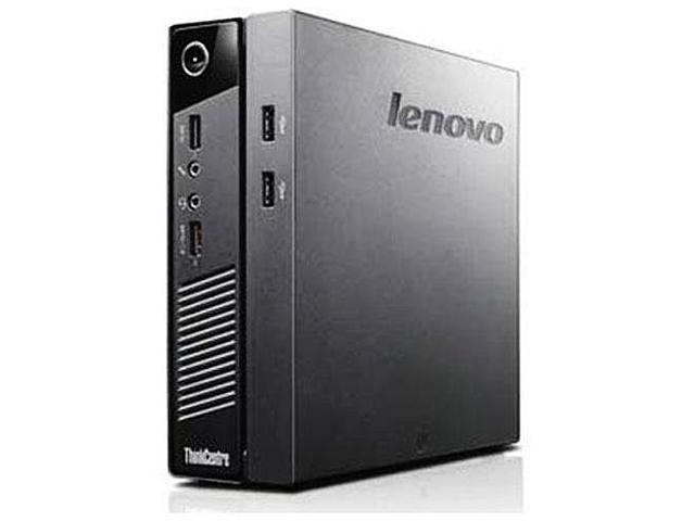 Lenovo ThinkCentre M93p Tiny 10AB0010US Desktop PC - Intel Core i5-4570T, 4GB DDR3, 500GB, Windows 7 Pro 64-Bit