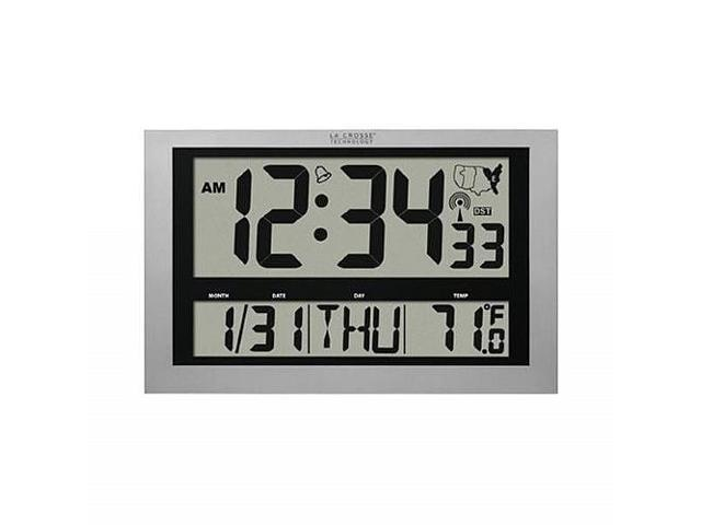 Atomic Clock With Thermometer