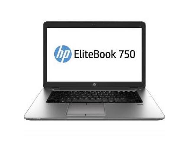 HP EliteBook 750 G1 (J8V06UT#ABA) Intel Core i5 4210U (1.70GHz) 4GB Memory 180GB SSD 15.6