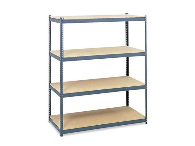 Steel Pack Archival Shelving, 69W X 33D X 84H, Gray