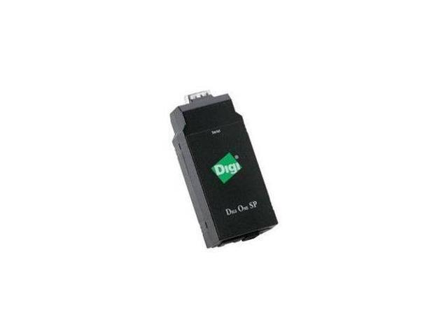 Digi International Digi One Sp 1 Port Rs-232/422/485 Db-9 Serial To Ethernet Device Server
