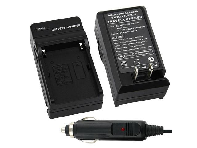 eForCity Battery Charger Compatible With Sony Li-Ion NP-Fm500H NP-F550 NP-F570