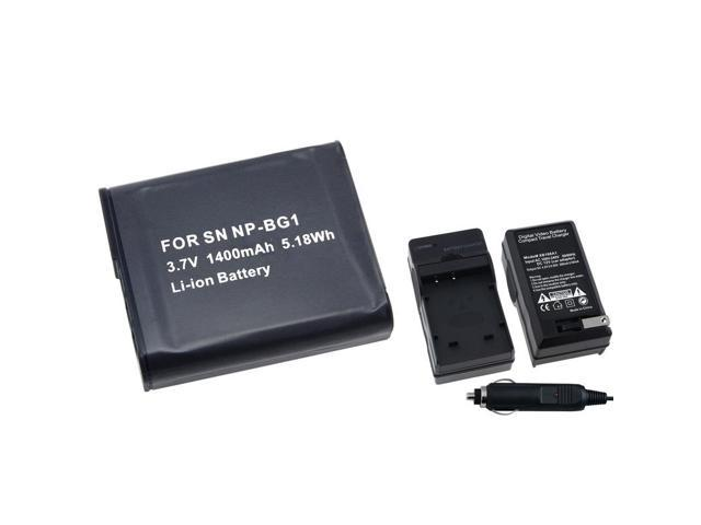 eForCity For Sony NP-Bg1 Replacement Battery + Charger