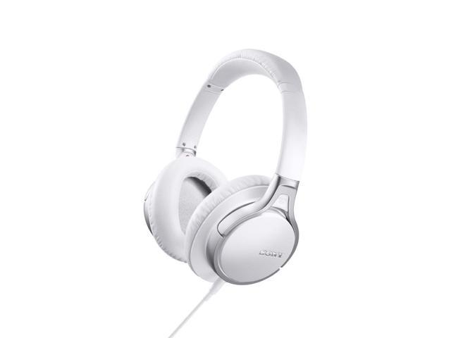 Sony MDR10RNCIPW Hi-Res Headphones for iOS and Android (White)