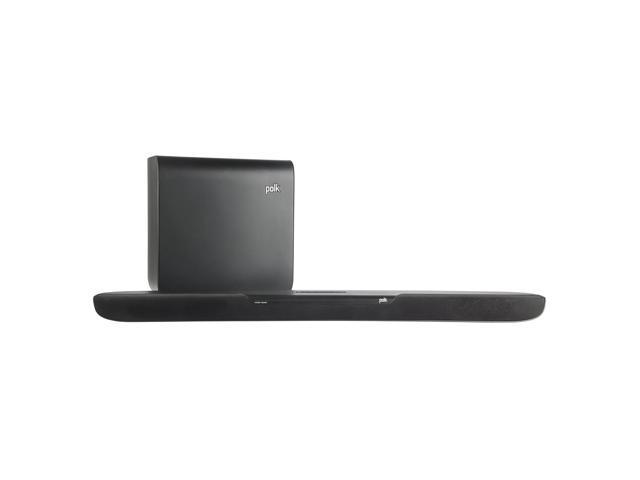 Polk Audio MagniFi One 2.0-Channel Sound Bar with Wireless Subwoofer & Bluetooth (Black)