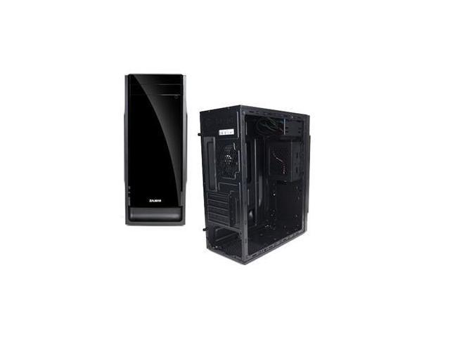 Zalman ZM-T2 Black PLUS Mini Tower Case 4Slot 1/2/(3) USB Fan ATX Computer Case ZM-T2 PLUS