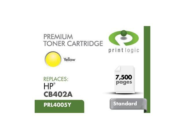 PRINTLOGIC CB402A YELLOW CARTRIDGE