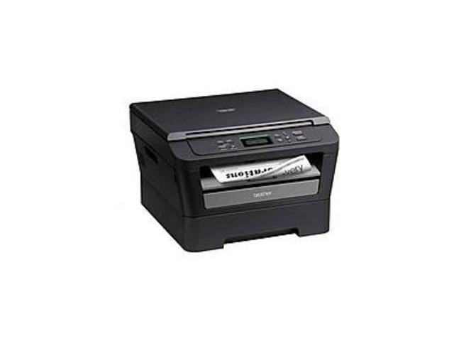Brother DCP-7060D Compact Monochrome Laser Printer/Copier/Scanner - 24 ppm - 600 x 600 dpi - USB - 110-120V AC - Black