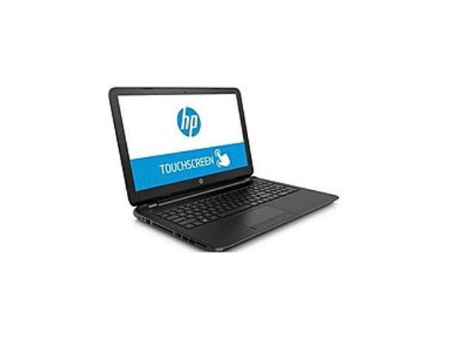 HP TouchSmart J8A22UA 15-f010wm Notebook PC - Intel Celeron N2830 2.16 GHz Dual-Core Processor - 4 GB DDR3L SDRAM - 500 GB Hard Drive - ...
