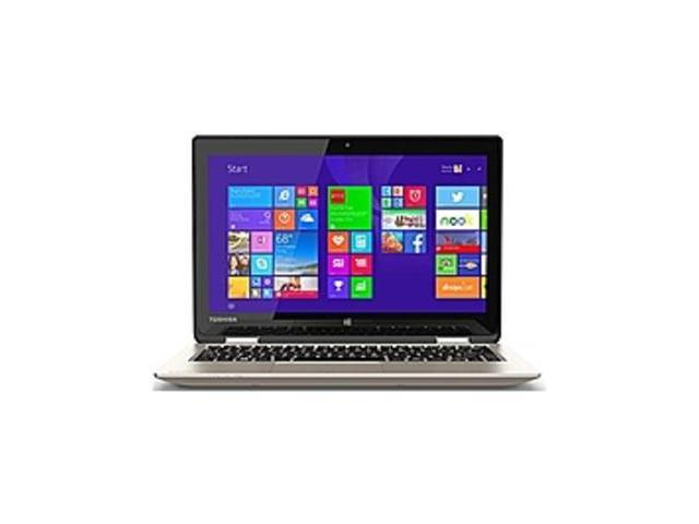 Toshiba Satellite Radius 11 PSKVUU-005013 L15W-B1307 Laptop PC - Intel Pentium N3540 2.16 GHz Quad-Core Processor - 4 GB DDR3L SDRAM - 500 GB ...