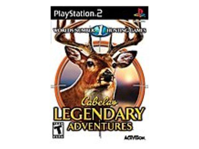 Activision Cabela's Legendary Adventures - Action/Adventure Game - PlayStation 2