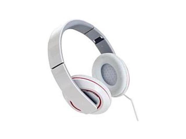 Sunbeam SBF-2012 Stereo Bass Foldable Headphones with Microphone - White