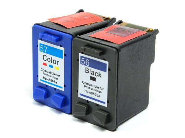 2 HP Deskjet 450cbi Ink Cartridges Combo Pack (compatible)