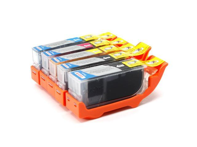 5 Canon Pixma MG6220 Ink Cartridges Combo Pack (compatible)