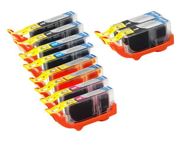 10 Canon Pixma MG8120B Ink Cartridges Combo Pack (compatible)