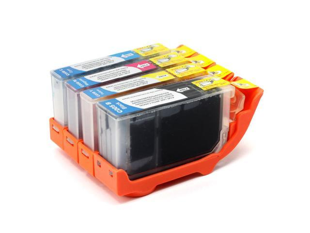 4 Canon Pixma IP4500 Ink Cartridges Combo Pack (compatible)