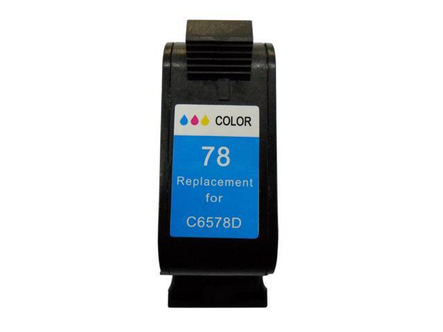 HP C6578D Remanufactured Ink Cartridge(Tri-Color)for HP Printer - Premium Superb Choice® Product