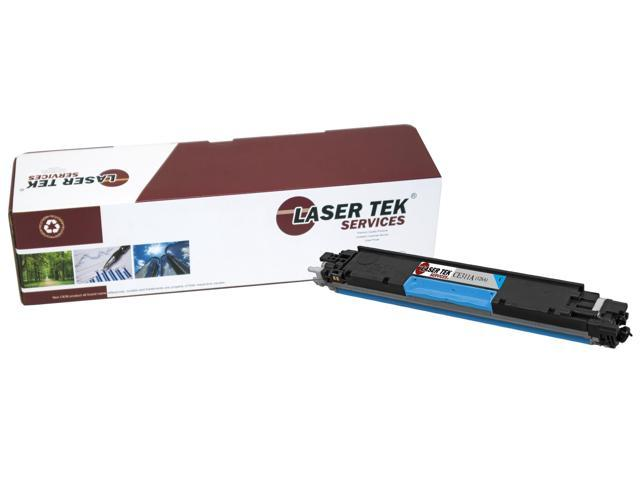 Laser Tek Services® HP CE311A (126A) Cyan High Yield Compatible Replacement Toner Cartridge