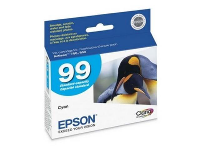EPSON T099220 Claria Cyan Ink Cartridge Cyan - Inkjet - 1 Each