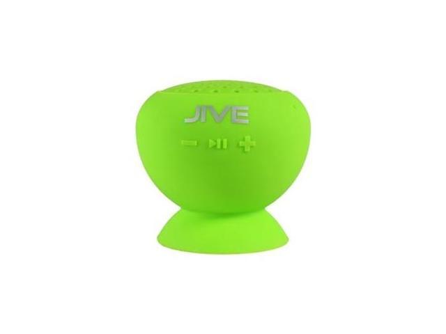 PC TREASURES 09013-PG Lyrix JIVE Water Resistant Bluetooth Speaker in Lime Green