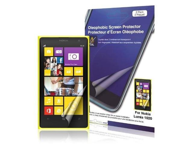GREEN ONIONS SUPPLY RT-SPNL102007 3PK OLEOPHOBIC SCREEN PROTECTOR FOR NOKIA LUMIA 1020 SMARTPHONE
