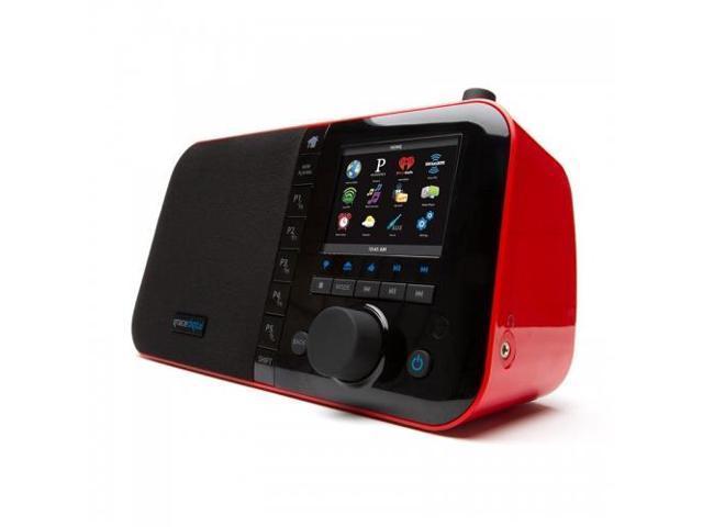GRACE DIGITAL AUDIO GDI-IRC6000R Mondo Internet Radio - Red / Wireless Wi-Fi 802.11N