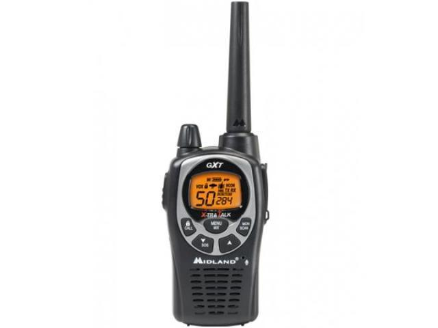MIDLAND RADIO CORPORATION MID-GXT1000VP4 50 CHL./ 30 MILE TWO WAY RADIO / NOAA Weather alert radio with weather scan