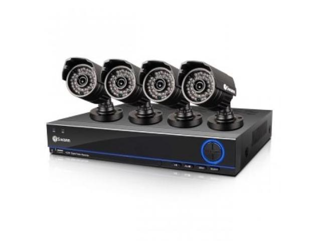 SWANN SWDVK-832004S-US DVR8-3200 8 Channel 960H Digital Video Recorder and 4 x PRO-642 Cameras