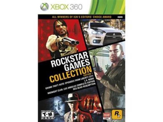 TAKE-TWO 49228 Rockstar Games Collection Action/Adventure Game - DVD-ROM - Xbox 360