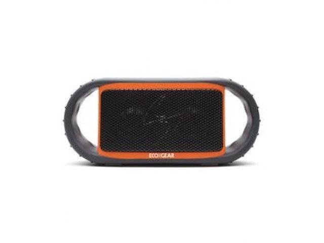 GRACE DIGITAL AUDIO GDI-EGBT500 ECOXBT Orange Waterproof Speaker w/ BT