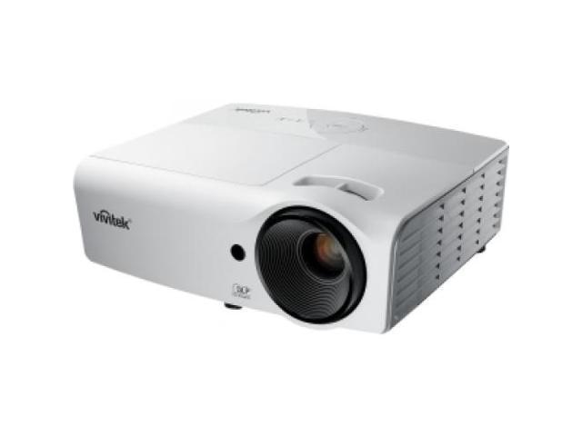 VIVITEK D554 D554 3D Ready DLP Projector - 576p - EDTV - 4:3 F/2.52 - 2.73 - SECAM, NTSC, PAL - 800 x 600 - ...