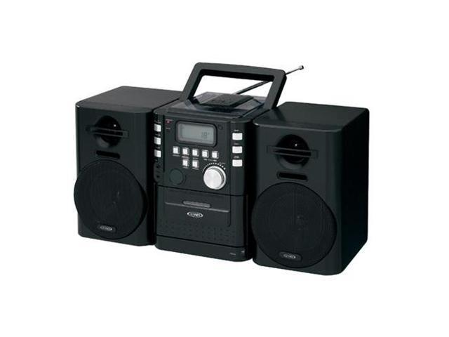 SPECTRA MERCHANDISING JEN-CD-725 Portable CD Music System with Cassete/FM