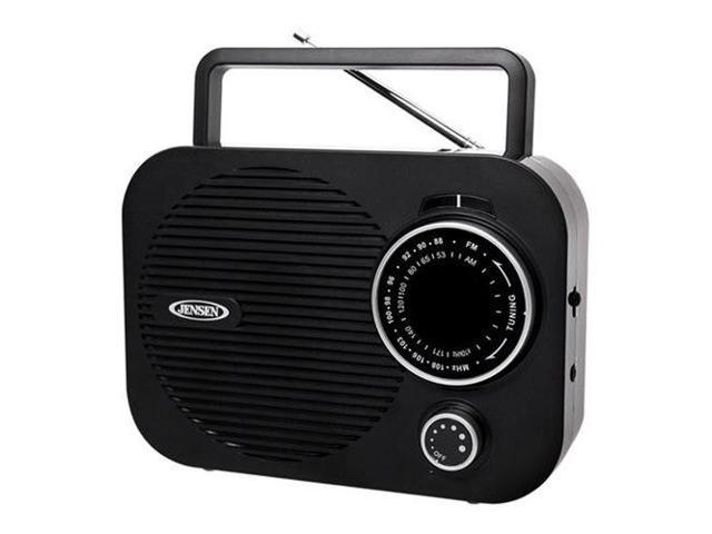 SPECTRA MERCHANDISING JEN-MR-550-BK Portable AM/FM radio (Black)