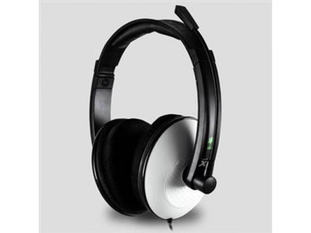 TURTLE BEACH TBS-2249-01 EAR FORCE XL1 GAMING HEADSET W/ MIC 16FT XBOX360 USB STEREO WHT