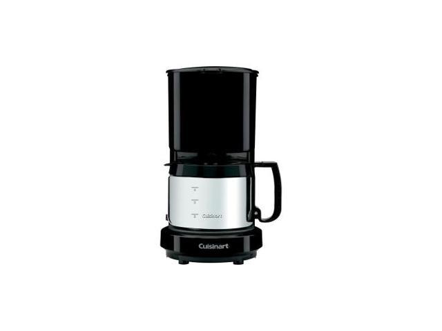 CONAIR WCM08B 4-Cup Coffeemaker with Brushed Stainless Carafe