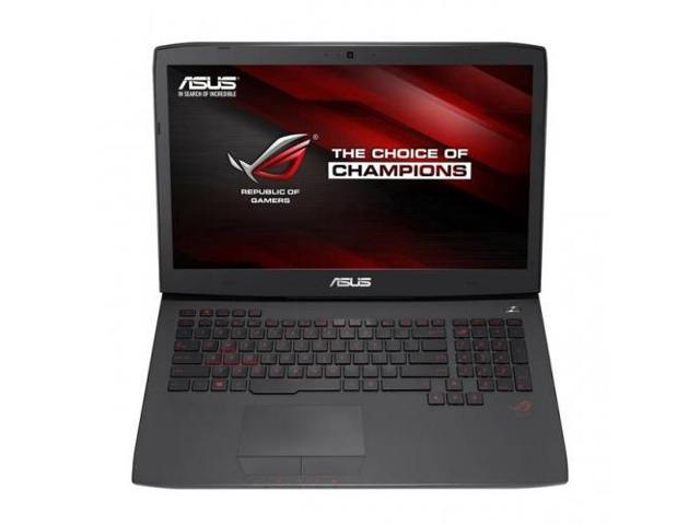 ASUS G751JT-CH71 Asus ROG G751JT-CH71 17.3 inch Intel Core i7-4710HQ 2.5GHz 16GB DDR3L 1TB HDD DVDRW USB3.0 Windows 8.1 Notebook (Black)