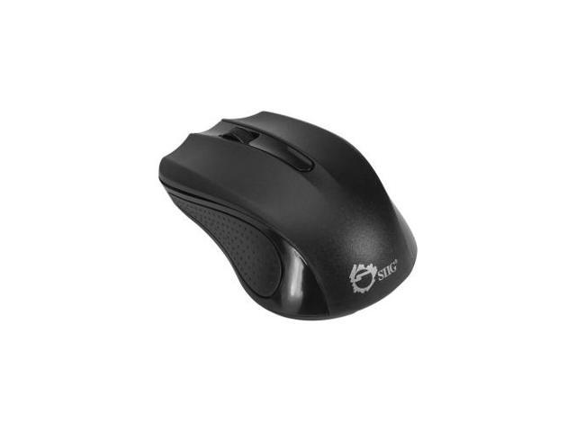 SIIG JK-WR0C12-S1 2.4GHz Wireless Optical Mouse - Black