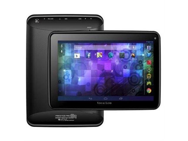 VISUAL LAND ME-8D-8GB-BLK Prestige Pro 8D 8 GB Tablet - 8